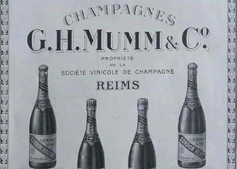 French tradition of founder GH Mumm